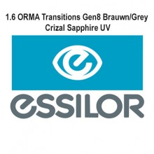 Оптика - 1.6 ORMIX Transitions Gen8 Brown/Grey Crizal Sapphire UV