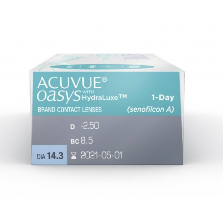Контактные линзы - Acuvue Oasys 1-Day with Hydraluxe - Фото № 2
