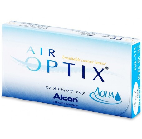 Контактные линзы - AIR OPTIX AQUA - Фото № 1