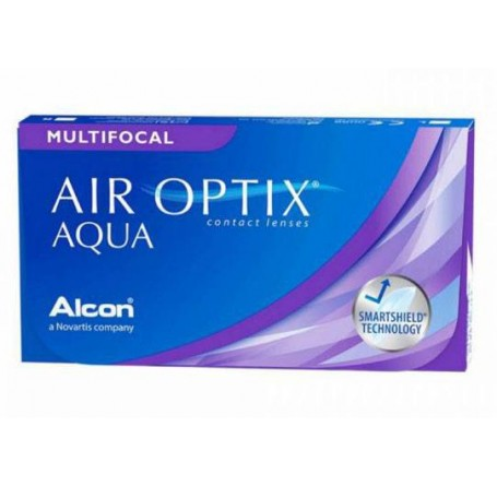 Контактные линзы - AIR OPTIX AQUA MULTIFOCAL - Фото № 1