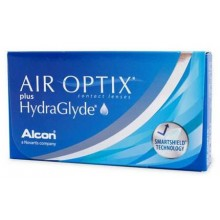 Контактные линзы - AIR OPTIX plus HydraGlyde