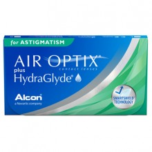 Контактные линзы - AirOptix plus HydraGlyde for Astigmatism