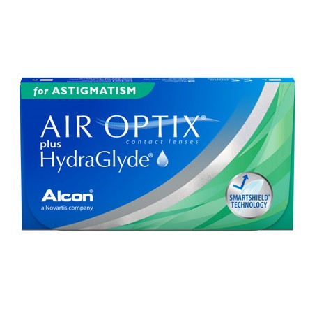 Контактные линзы - AirOptix plus HydraGlyde for Astigmatism - Фото № 1