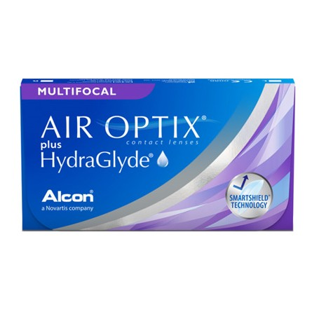 Контактные линзы - AIR OPTIX plus HydraGlyde MULTIFOCAL - Фото № 1