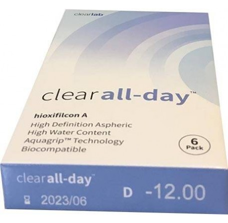 Контактные линзы - Clear all-day - Фото № 3