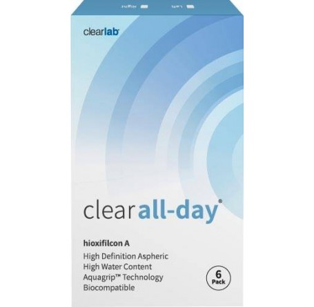 Контактные линзы - Clear all-day - Фото № 1