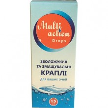 Контактные линзы - Multi Action Drops