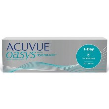 Однодневные линзы - Acuvue Oasys 1-Day with Hydraluxe